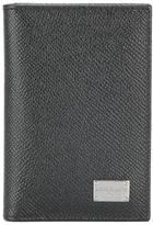 Dolce & Gabbana Dauphine leather wallet - men - Calf Leather - One Size