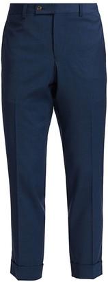 Saks Fifth Avenue MODERN Cuffed Trousers