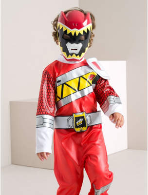 George Power Rangers Dino Charge Fancy Dress Costume