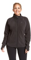 Champion Plus Size Raglan Sleeve Microfleece Jacket