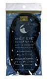 Earth Therapeutics Mind/Body Therapy Sleep Mask, Cotton, Silk , 1 mask (Pack of 2)