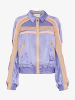 Peter Pilotto Silk Contrast Cady Jacket