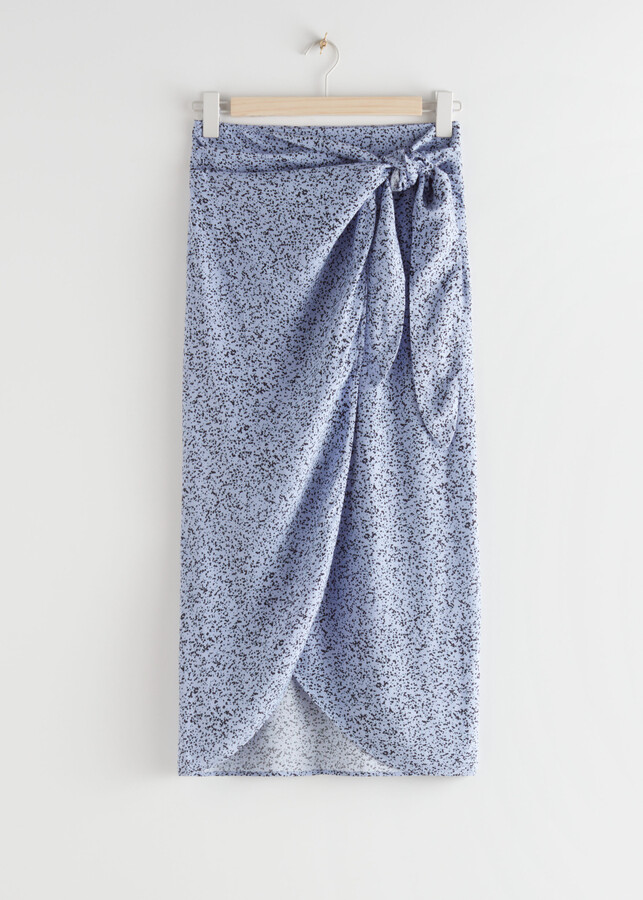 Thumbnail for your product : And other stories Scarf Tie Maxi Wrap Skirt