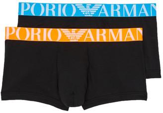 Emporio Armani Florescent Stretch Cotton Trunk 2-Pack