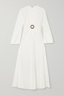 Dodo Bar Or Jane Crocheted Cotton Maxi Dress - White