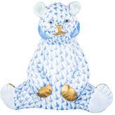 Herend Baby Bear Sitting Figurine