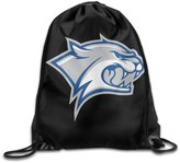 HITKF New Hampshire Wildcats Logo Drawstring Backpack Bag