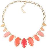 ABS by Allen Schwartz Gold-Tone Multi-Stone Statement Necklace