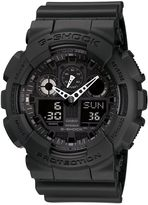 G-shock G-shock Ga-100-1a1er Black Sports Watch