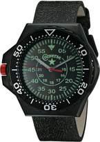 Converse Men's VR008001 Foxtrot Culture Distressed Strap Watch
