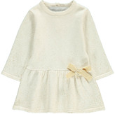 Tartine et Chocolat Lurex Knitted Dress with Bow