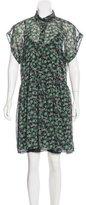 Anna Sui Knee-Length Printed Dress