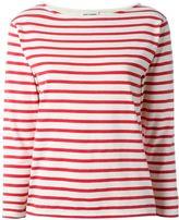 Saint Laurent classic breton sweatshirt - women - Cotton - M