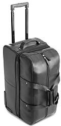 Royce New York Leather Rolling Duffel Bag Luggage