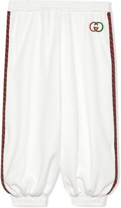 Gucci Kids Web Trim Track Trousers