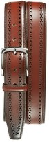 Allen Edmonds Men's 'Manistee' Brogue Leather Belt