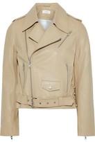 A.L.C. Dree Lace-up Leather Biker Jacket