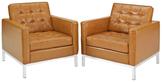 Modway Loft Armchairs (Set of 2)