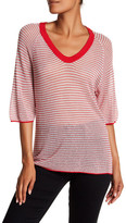 Zadig & Voltaire Lor Metallic Striped Shirt