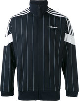 adidas striped track jacket - men - Cotton/Polyester/Spandex/Elastane - S