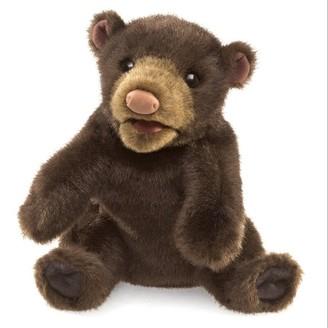 Folkmanis Puppet Black Bear Small
