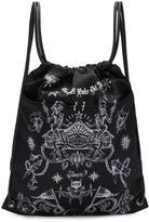 Givenchy Black Tatoo Print Rucksack