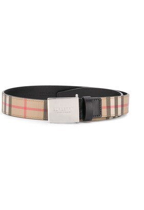 BURBERRY KIDS Checked Utility Belt