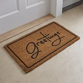 Crate & Barrel Greetings Doormat
