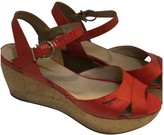 Salvatore Ferragamo Red Patent leather Sandals