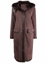 Thumbnail for your product : Desa 1972 Oversized Shearling Coat