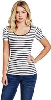 GUESS Factory Adria Short-Sleeve Striped Tee