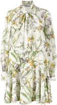 Alexander McQueen wild iris print dress