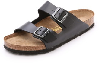 Birkenstock Amalfi Leather Soft Footbed Arizona Sandals