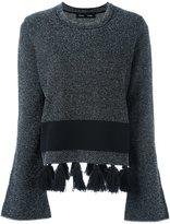 Proenza Schouler tassel detail jumper - women - Viscose/Cotton/Nylon/Polyester - S