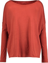Majestic Cotton and cashmere-blend top