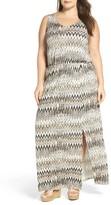 Sejour Plus Size Women's Jersey Maxi Dress