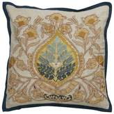 Vicini Darby Home Co Damask Pattern Cotton Throw Pillow Darby Home Co
