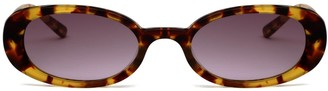 Hot Futures Good Vibrations - Amber Tortoiseshel Brown Ombre Lens