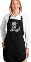 Los Angeles Pop Art Full Length Apron - THE TITLES OF ALL OF WILLIAM SHAKESPEARE'S COMEDIES & TRAGEDIES