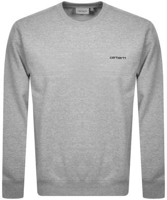 Carhartt Script Sweatshirt Grey