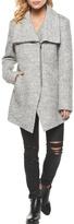 Dex Boucle Zippered Coat