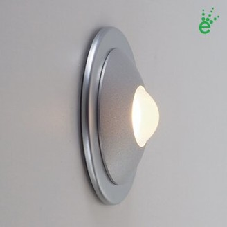 Bruck Lighting Ledra Orbi LED Wall Sconce Finish: Matte Chrome, Bulb Type: 4000K White