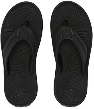 Quiksilver Travel Oasis (Black/Black/Brown) Men's Sandals