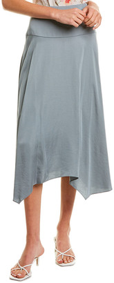 La Vie By Rebecca Taylor Satin Maxi Skirt
