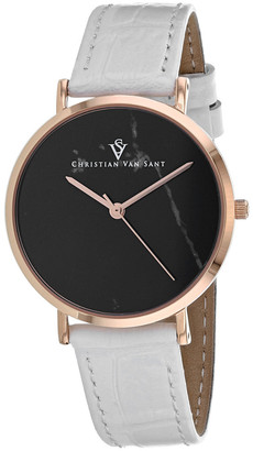 Christian Van Sant Women's Lotus Watch