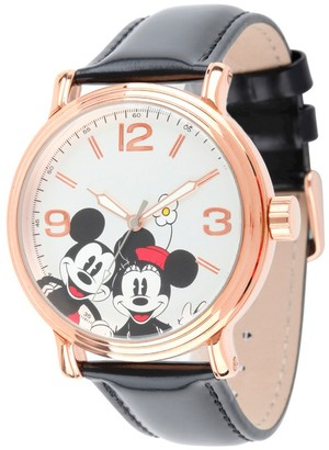 Disney Men' Diney hinny Vintage Articulating Watch with Alloy Cae -
