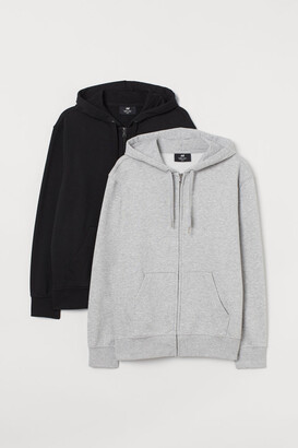 H&M 2-pack Regular Fit Jackets - Gray