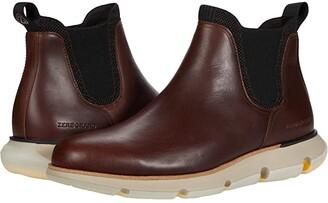 Cole Haan 4.Zerogrand Chelsea Wp (Earthen Waterproof/Ivory) Men's Boots