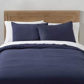 Pottery Barn Teen Essential Cargo Duvet Cover, Twin/Twin XL, Classic Navy