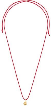 Alighieri Pentacle chord necklace
